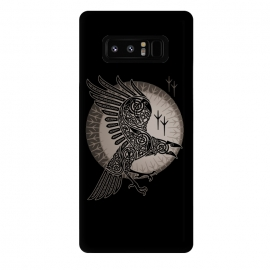 Galaxy Note 8  RAVEN by RAIDHO (RAVEN,VIKINGS,MOON,KNOTWORK)
