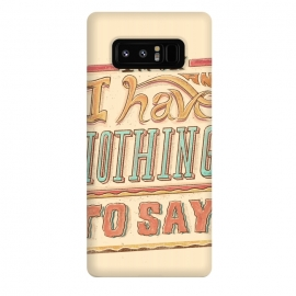 Galaxy Note 8  Im ok by  (lettering , letter , ilustration , word , words , bold , retro , vintage , design , tipography , tipograpy , tipo)