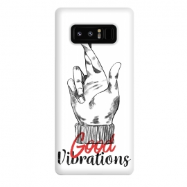 Galaxy Note 8  Good Vibrations by Ilustrata (good-vibrations , good , like , hands , lettering , phrase , words , manga , comics , good-day , relax)