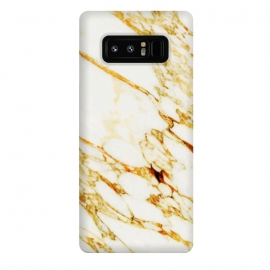Galaxy Note 8  Gold Marble by