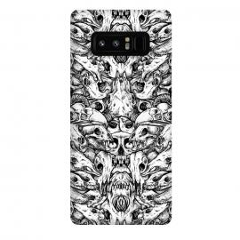 Galaxy Note 8  Animalia by  (Skull,caveira,calavera,calaca,crane,bull,lion,parrot,bird,deer,cow,human)