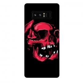Galaxy Note 8  broken skull by  (broken,skull,pieces,tooth,teeth)