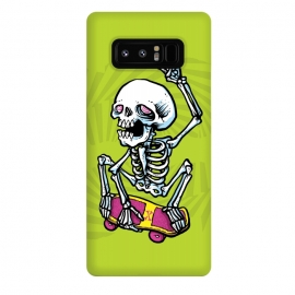 Galaxy Note 8  Rad! by  (skate,skateboard,rad,air,colors,80s,skeleton)