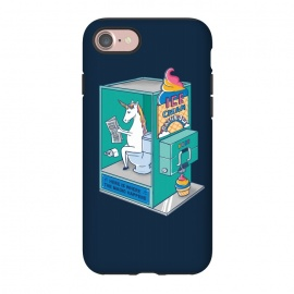 iPhone 8/7  Ice Cream Rainbow blue by Coffee Man