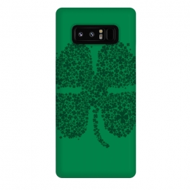 Galaxy Note 8  Good Luck! by  (four,leaf,clover,shamrock,shenanigans,ireland,irish,st patrick,lucky,gold,lucky charm,leprechaun,plant,tree,flower,girl)