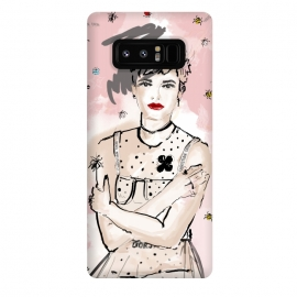 Galaxy Note 8  Dior Girl by  (fashion,dior,girl,illustration)