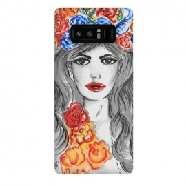 Galaxy Note 8  flower girl by