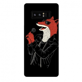 Galaxy Note 8  Fox by Coffee Man (fox,music,punk,rock,animal,funny,humor,wtf,sing,foxy,zorro)