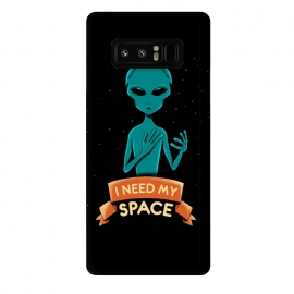 Galaxy Note 8  I need my space by Coffee Man