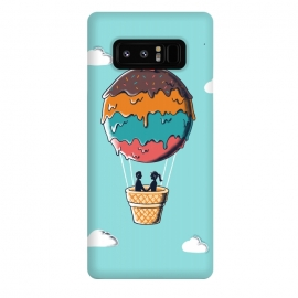 Galaxy Note 8  Sweet  Journey by Coffee Man (ice cream,ballon,skype,cloud,funny,melted,couple,romance,love,livers,sweet,sugar)