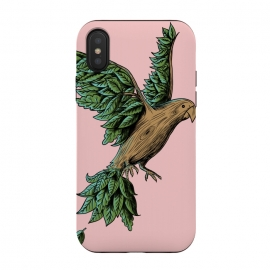 iPhone Xs / X  Wood Bird by Coffee Man