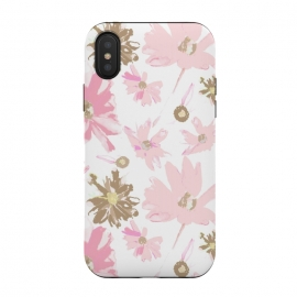 iPhone Xs / X  Daisy Daisy - Pink by  (daisy,daisies,pink,pink flowers,floral,flowers,feminine,girly,girl,spring,sweet)