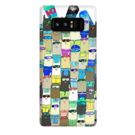 Galaxy Note 8  Snow? No Prob-Llama Alpaca My Board! by  (alpacas,llamas,snow,snowboarding,boarders,sport,funny,pattern,illustration,extreme)