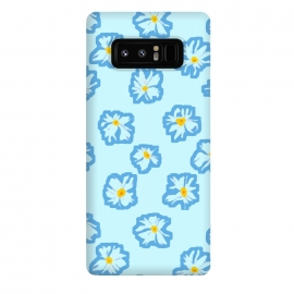 Galaxy Note 8  Happy Daysies by Bettie * Blue