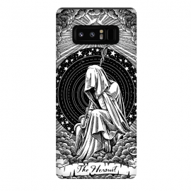 Galaxy Note 8  The Hermit by Azizan Inn (Thehermit,tarotcard,hermittarotcard)