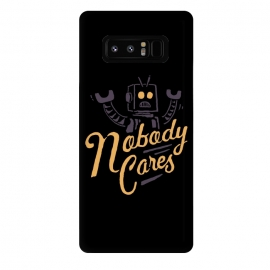 Galaxy Note 8  Nobody Cares by Tatak Waskitho (robot,funny)