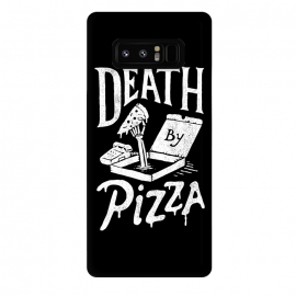 Galaxy Note 8  Death By Pizza by Tatak Waskitho (pizza,funny)