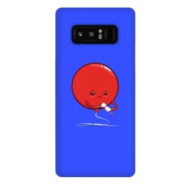 Galaxy Note 8  Ready to pop by Xylo Riescent (robo rat,balloon,needle,funny,kids,cool,awesome,blue)