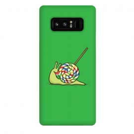 Galaxy Note 8  Home Sweet Home by Xylo Riescent (Robo Rat,snail,home,house,lollipop,candy,green,funny,kids,cool)