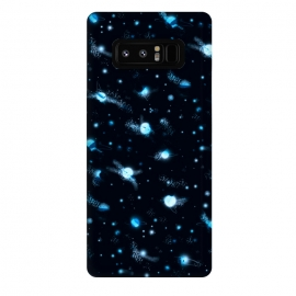 Galaxy Note 8  marble night sky by Laura Grant (marble,night sky,stars,galaxy,universe,sky,planet)