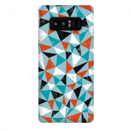 Galaxy Note 8  Dude by Rhiannon Pettie (triangle,geo,teal,turqoise,modern)