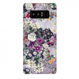 Galaxy Note 8  Floral Pattern by Riza Peker (Flowers,collage,art,spring,summer,design,RizaPeker)