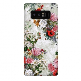 Galaxy Note 8  Floral Pattern II by  (Floral,botanical,pşants,spring,summer,art,design,RizaPeker)