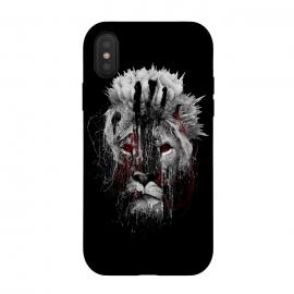 iPhone Xs / X  Lion BW by  (wildanimals,wildcats,lion,art,design,rizapeker)