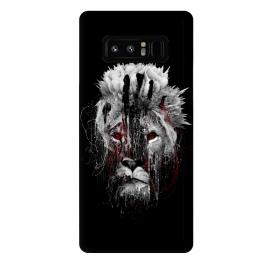 Galaxy Note 8  Lion BW by  (wildanimals,wildcats,lion,art,design,rizapeker)