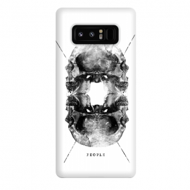 Galaxy Note 8  Two Faced People by Rui Faria (skull,type,typography,design)