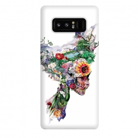 Galaxy Note 8  Nature Skull II by Riza Peker (Floral,skull,collage,art,design,surreal,Rizapeker)