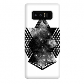 Galaxy Note 8  Space travel by Rui Faria (space,stars,abstract,black and white,sky)