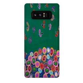 Galaxy Note 8  Happy World by  (modern fun)