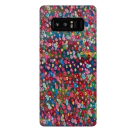 Galaxy Note 8  Floating Flowers by Helen Joynson (fun modern)