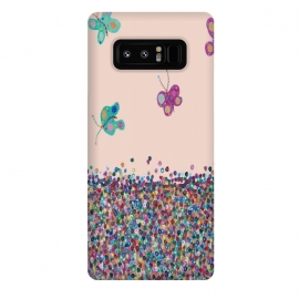 Galaxy Note 8  Butterflies are Free by  (modern fun)