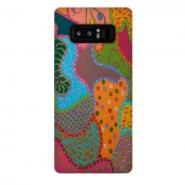 Galaxy Note 8  Cheerful Pattern by  (fun modern)