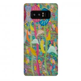 Galaxy Note 8  Happy Flowers by  (fun modern)