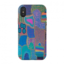 iPhone Xs / X  Colour Has Life by  (fun modern)