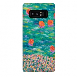 Galaxy Note 8  Cheerful Orange by Helen Joynson