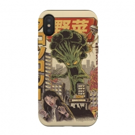 iPhone Xs / X  THE BROCCOZILLA by Ilustrata