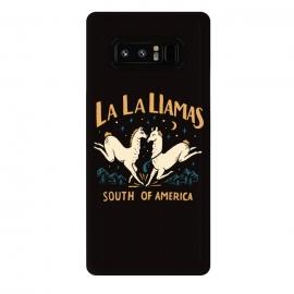 Galaxy Note 8  La La Llamas by  (lalaland,movie,animal,llama)