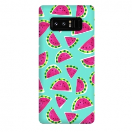 Galaxy Note 8  painted watermelon by