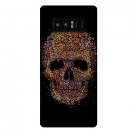 Galaxy Note 8  Acid Skull by  (skull, acid,music,pixel,pixels,smite,electronic,underground,colorful,horror,particles,effect,color,8 bit,lsd)