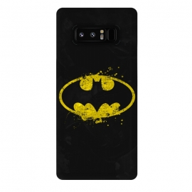 Galaxy Note 8  Batman's Splash by  (Bat,batman,DC Comics,Dark Knight,Dark,Knight,Bruce,Wayne,Gotham,superhero,comics,movie)
