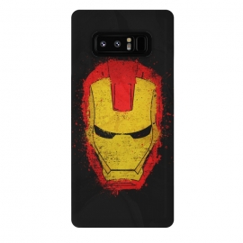 Galaxy Note 8  Iron Man splash by Sitchko Igor