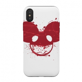 iPhone Xs / X  Deadmau5 V2 by Sitchko Igor (Deadmau5,Maus,Deadmaus,Dj,Deejay,Music,Producer,Dead,Sound,Rave,Electro,Techno,Progressive,Maustrap,Fat)