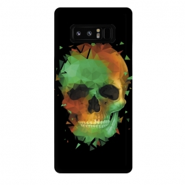 Galaxy Note 8  Geometry Reconstruction Skull by Sitchko Igor (Reconstruction,Geometry,Skull,Skeleton,Bones,Green,TRiangle,Deformation,upgrade,modification,transition,tuning,transformation,fun,modern,urban,cool)