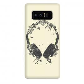 Galaxy Note 8  Art Headphones by  (Headphones,music,vector,digital,sound,audio,pioneer,senhaisser,aiaiai,DJ,deejay,clubber,moloman,melodic,club,techno,trance,progressive,deep,house,DNB,dubstep,trap,urban,modern,underground)