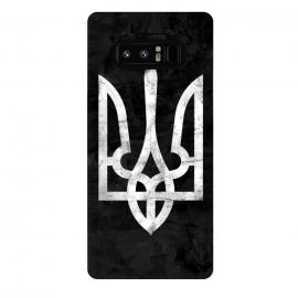 Galaxy Note 8  Ukraine Black Grunge by