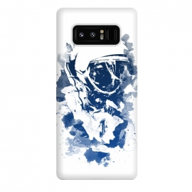 Galaxy Note 8  Space Dog V3 by  (Space,dog,laika,astronaut,cosmonaut,cosmo,cosmos,puppi,animal,animals,galaxy,mixed)